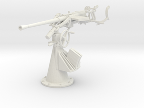 1/16 DKM Single 20mm FLAK C30 in White Natural Versatile Plastic