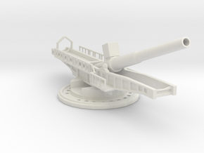 Sk l/45 38cm max e 1/160 artillery turntable  in White Natural Versatile Plastic