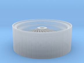 1/24 Wire wheel for street rods & customs  in Smoothest Fine Detail Plastic