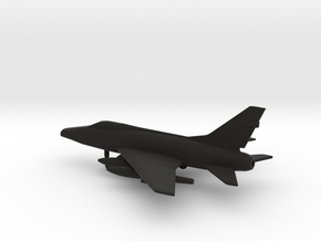 North American F-100D Super Sabre in Black Natural Versatile Plastic: 1:200