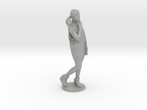 Scanned pretty Girl - 6CM High in Aluminum