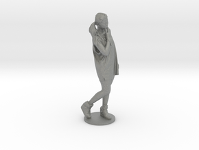 Scanned pretty Girl - 6CM High in Gray PA12