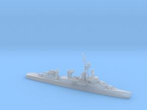 1/1800 Scale4 Gun Fletcher Destroyer 1950 in Smooth Fine Detail Plastic
