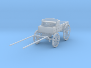 HDV03E Ranch Wagon - HO (1/87) in Smooth Fine Detail Plastic