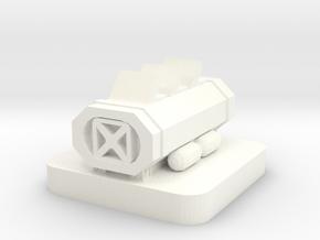 Mini Space Program, Science Lab 2 in White Processed Versatile Plastic