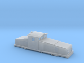 Swedish SJ electric locomotive type Hg - N-scale in Smooth Fine Detail Plastic