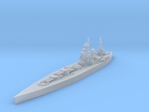 UK Nelson-class Battleship in Smooth Fine Detail Plastic