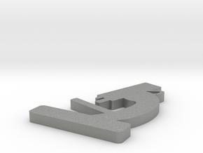 Microscope Pendant in Gray Professional Plastic