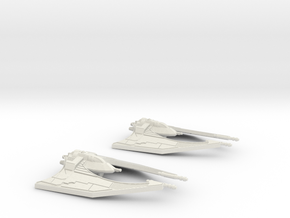 Miy'til starfighter x2 in White Natural Versatile Plastic
