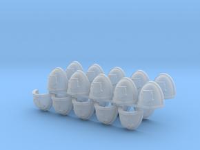 Eagle Shoulder Pads Mk7/8 L X20 #3  in Smooth Fine Detail Plastic