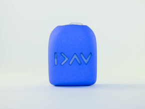 Greater than Highs & Lows - Omnipod Pod Cover in Blue Processed Versatile Plastic