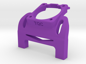 Waterfall w 30mm fan mount for TQC cars in Purple Processed Versatile Plastic