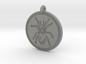 Tarantula Animal Totem Pendant in Gray PA12