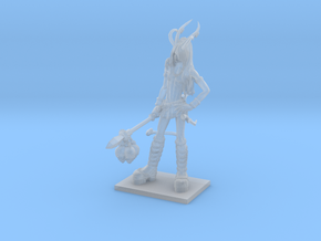 Fantasy Figures 19 - Tiefling in Smooth Fine Detail Plastic