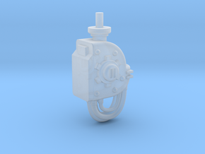 Armiger-type Neck Piece in Smooth Fine Detail Plastic