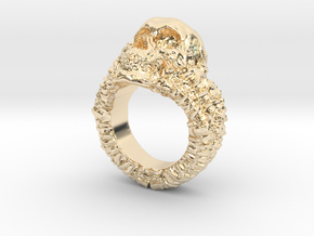 Skull Ring in 14K Yellow Gold: 6.5 / 52.75