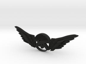 Many Planes Pin in Black Premium Versatile Plastic