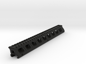 Full Length Top Rail Riser for Kriss Vector in Black Natural Versatile Plastic