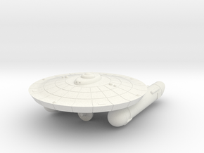 3125 Scale Federation Burke-Class Frigate (FFG) WE in White Natural Versatile Plastic