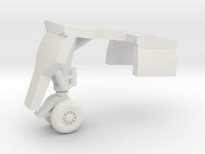 Grumman-E-1B-96Scale-03-FwdGear in White Natural Versatile Plastic