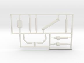 Grumman-E-1B-96Scale-07-PartFret in White Natural Versatile Plastic