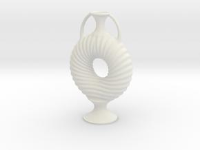 Vase R55 in White Natural Versatile Plastic