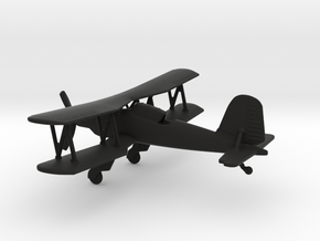 Fieseler Fi 167 in Black Natural Versatile Plastic: 1:160 - N