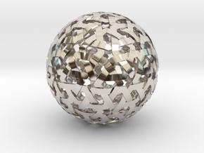 Geodesic Weave in Platinum