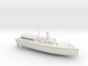 1/96 Scale IJN Boat 17 Meter in White Natural Versatile Plastic