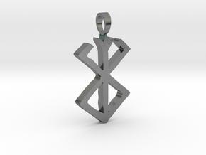Large Berserk [pendant] in Polished Silver