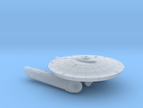 3788 Scale Federation Burke-Class Frigate (FFG) in Smooth Fine Detail Plastic