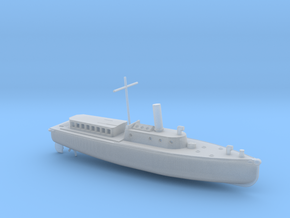 1/285 Scale IJN Boat 17 Meter in Smooth Fine Detail Plastic