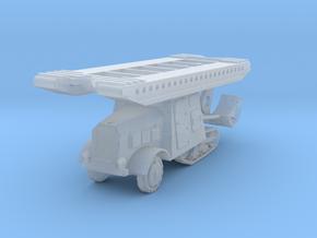 Somua MCL-5 bridge 1:200 in Smooth Fine Detail Plastic