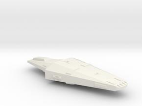 3788 Scale Hydran Gendarme Police Frigate CVN in White Natural Versatile Plastic