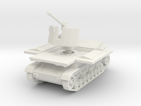 Mobelwagen 37mm early fire pos. 1:120 in White Natural Versatile Plastic