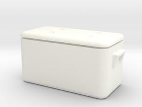 1/10 Scale Cooler / Hielera M1 in White Processed Versatile Plastic