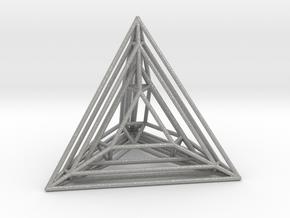 Tetrahedron Experiment in Aluminum
