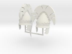 PYLOS HELMET 1AND2  in White Natural Versatile Plastic