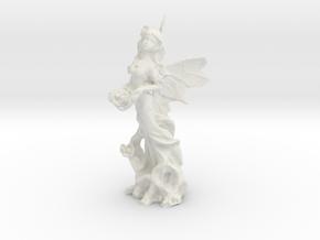 Fairy in White Natural Versatile Plastic