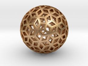 Deltoid Reticulation in Natural Bronze
