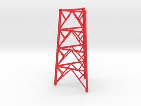 twr part 2 in Red Processed Versatile Plastic