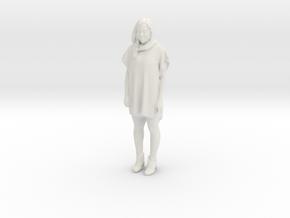 Printle C Femme 063 - 1/12 - wob in White Natural Versatile Plastic
