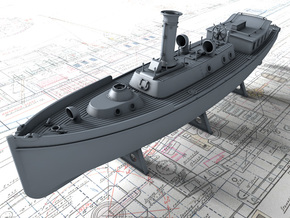 1/96 Royal Navy 50ft Steam Pinnace x1 in Smooth Fine Detail Plastic