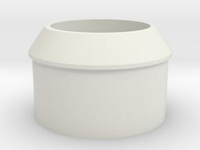 boom_adapter in White Natural Versatile Plastic