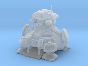 Planetary fortress / Starcraft in Smooth Fine Detail Plastic