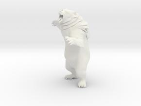 Printle Thing Brown Bear - 1/24 in White Natural Versatile Plastic