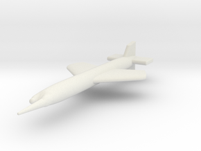 (1:144) Henschel Hs 117 H  in White Natural Versatile Plastic