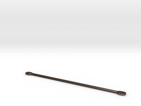 Tamiya Thundershot Steel Metal Driveshaft Custom in Polished Bronze Steel