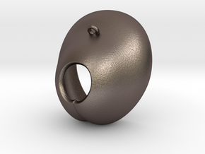 Electrode Customized 03 in Polished Bronzed-Silver Steel