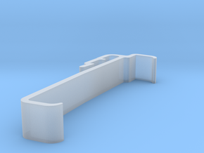 Blind Valance Clip 00170 in Smooth Fine Detail Plastic